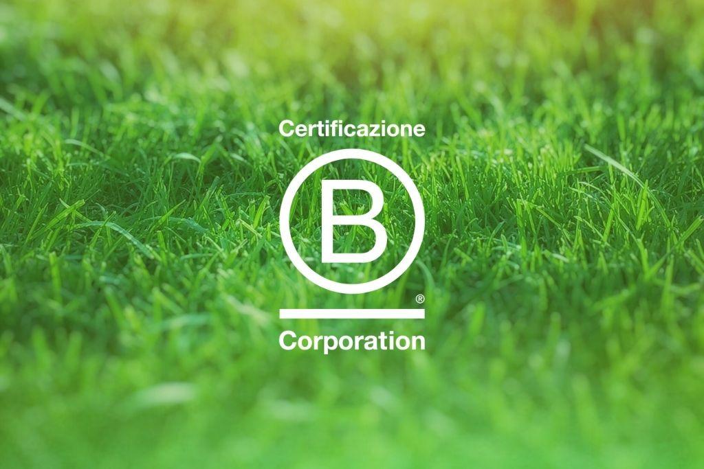 Siamo certificati B Corp